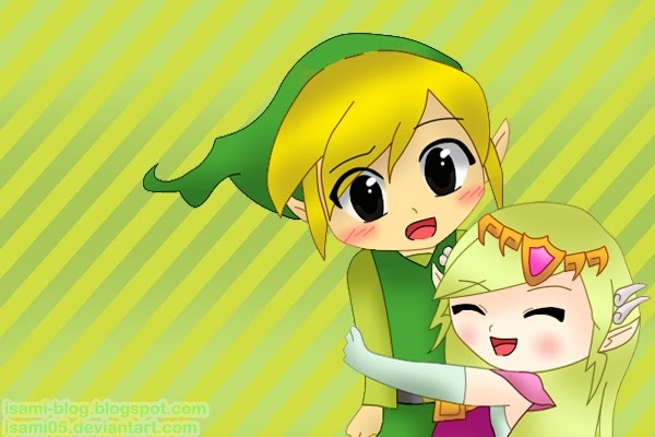 Isami Blog: Dibujos Toon-Link y Toon-Zelda