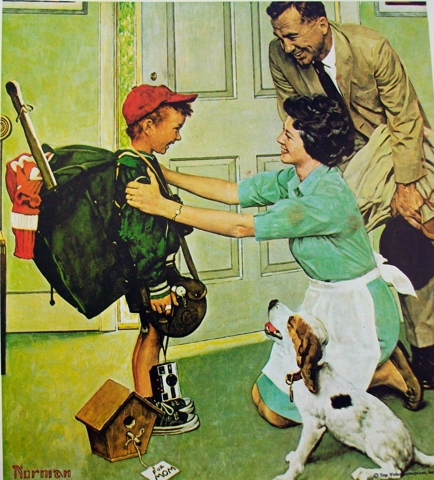 Top Value Auto >> 10minutes2breathe: More Norman Rockwell