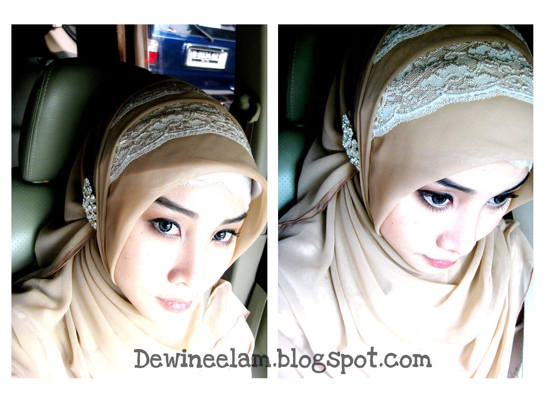 Dewi Neelam By Irna Hijab For Graduation Even Or Wedding