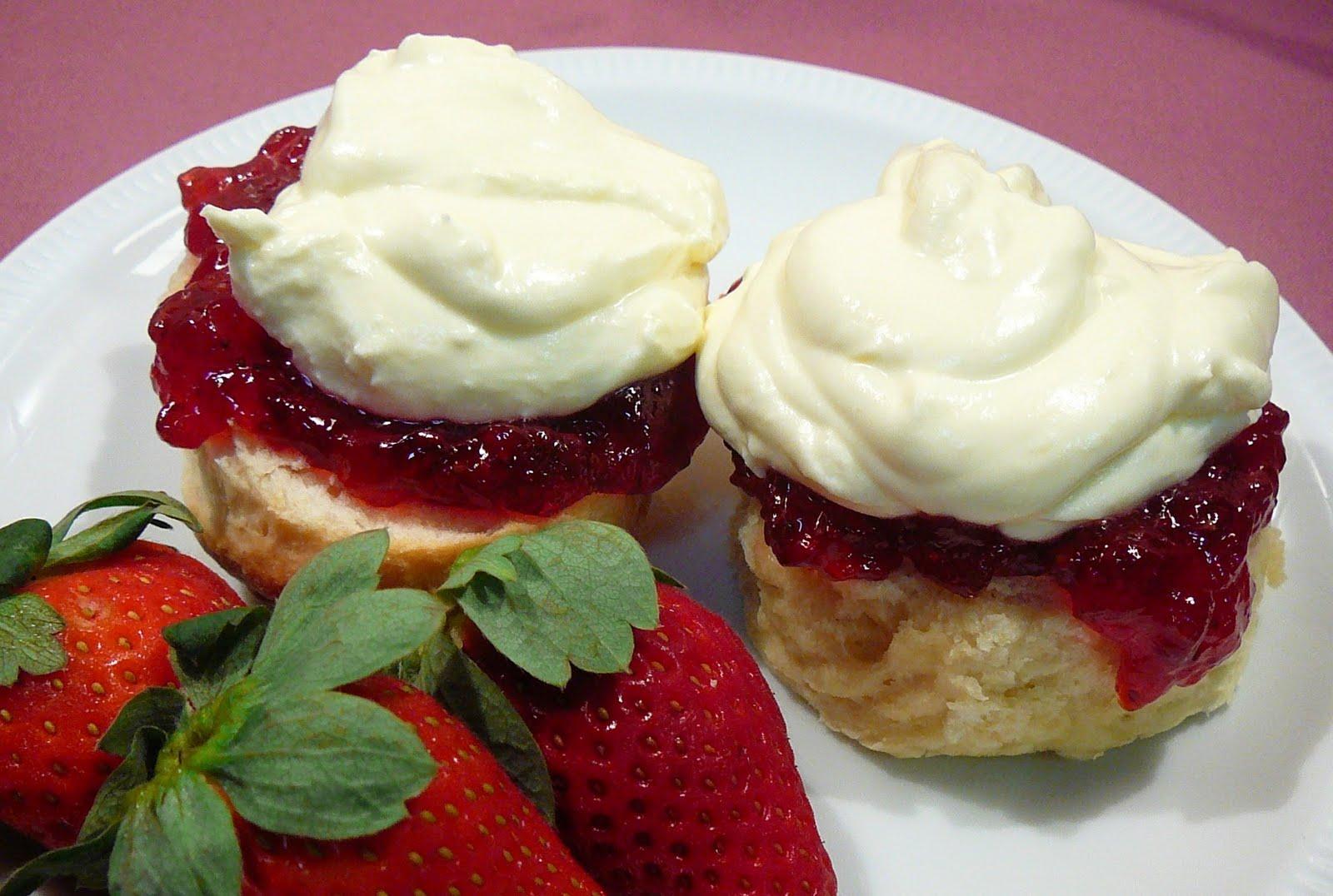 Marcellina in Cucina: Scones, Jam and Cream