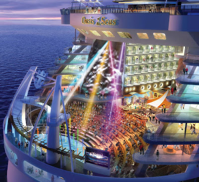 Aqua Theater On The Oasis Of The Seas