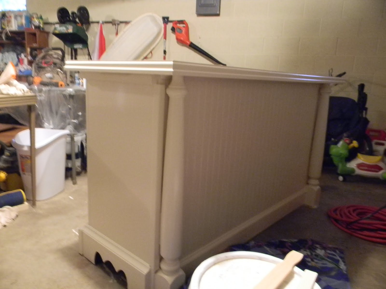 on how to make a kitchen island out of dresser 1