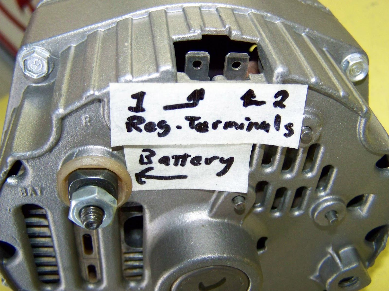 10si alternator wiring diagram maytag gas dryer parts warning light 3 wire