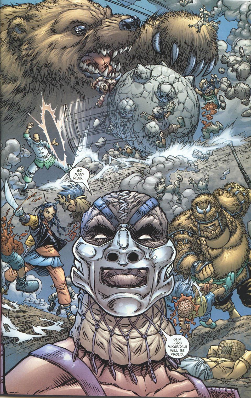 Read online Ninja Boy comic -  Issue #5 - 15