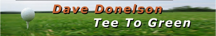 Dave Donelson Tee To Green