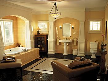 Come arredare casa arredamento bagno classico for Arredare casa in stile classico