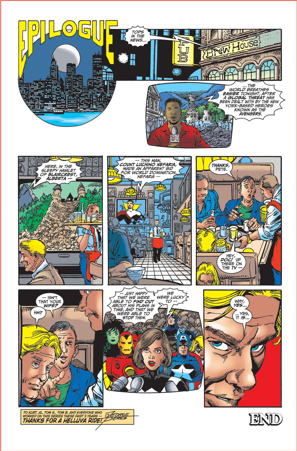 Read online Avengers (1998) comic -  Issue #34 - 38