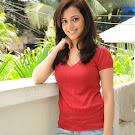 Nisha Agrawal in Red Top & Jeans Pics