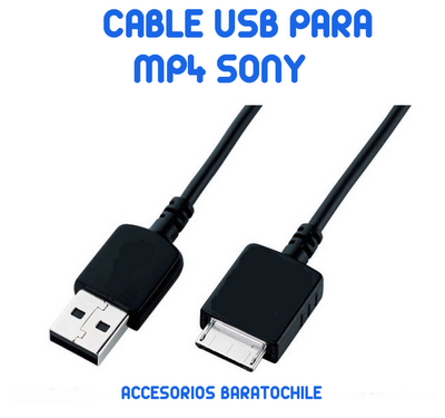 Cable datos USB MP4 SONY