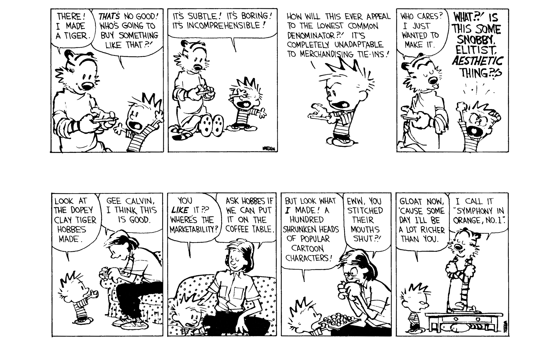 Calvin And Hobbes Coffee Table.Calvin And Hobbes 8 Read Calvin And Hobbes Issue 8 Page 99