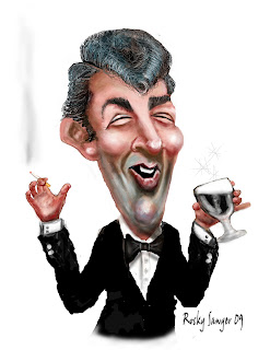 Sawyer Illustration Inc Caricature And Cartoon Art Studio Dean Martin