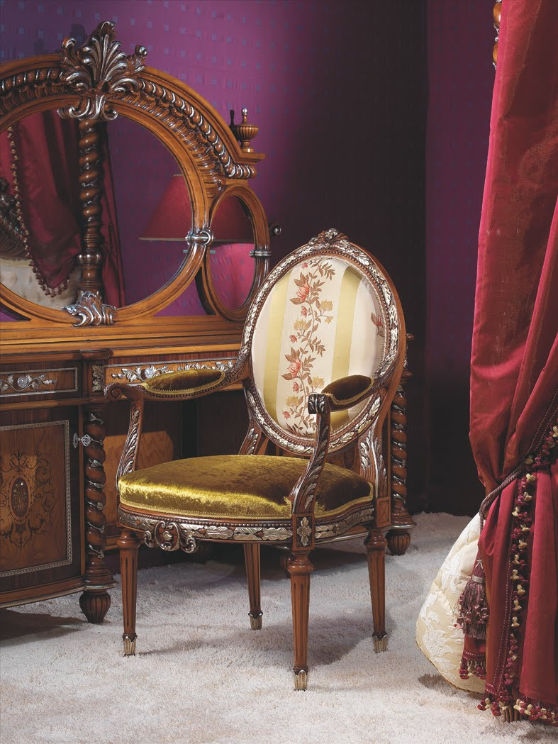 Rococo Style Classic Bed Room French Design