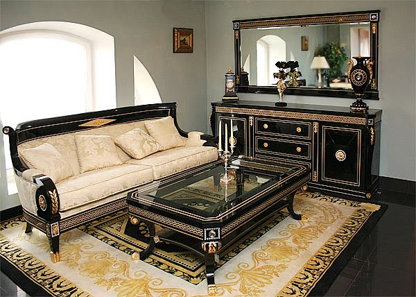 Russian Style Classic Bed Room French Design