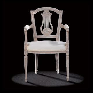 Antique Louis XVI Musician Chair