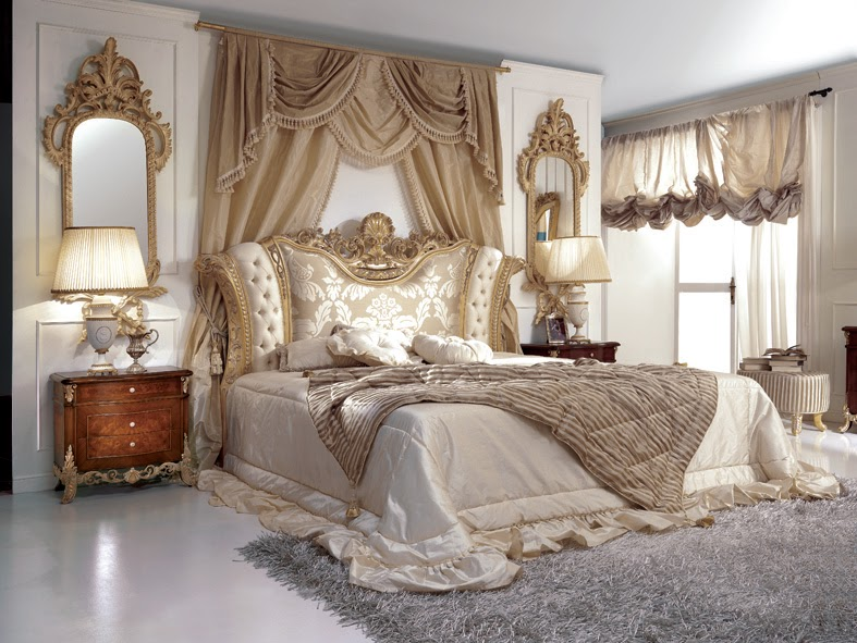 French Style Bedroom Marie Antoinette Period