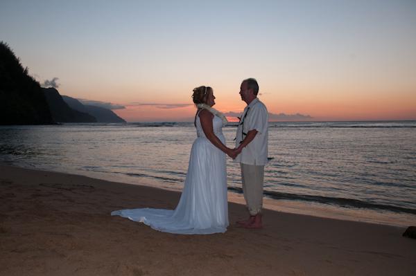 Maile Weddings And Photography Kauai Beach Wedding At Ke E