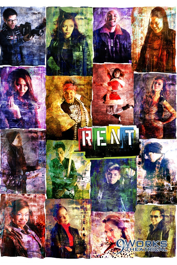 Rent Musical Poster Re...