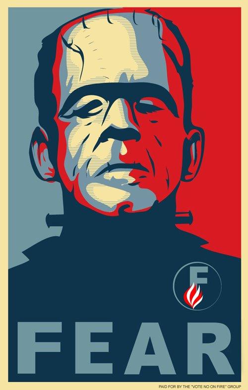 Frankenstein for fear