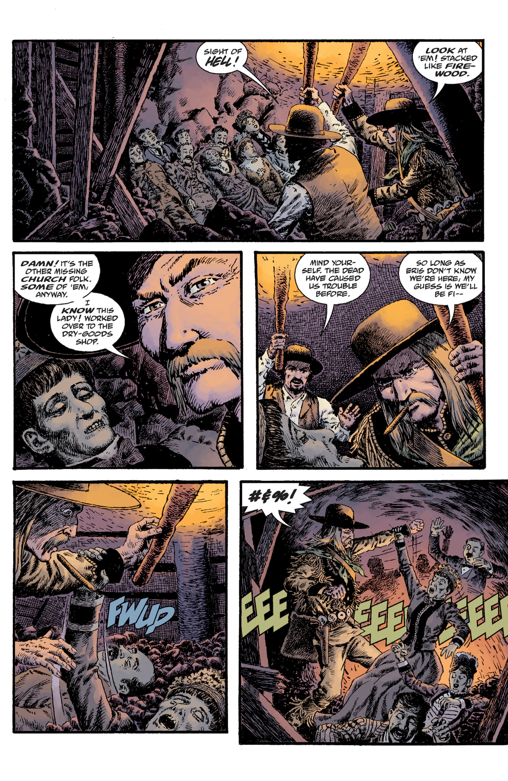 Read online Sir Edward Grey, Witchfinder: Lost and Gone Forever comic -  Issue # TPB - 86