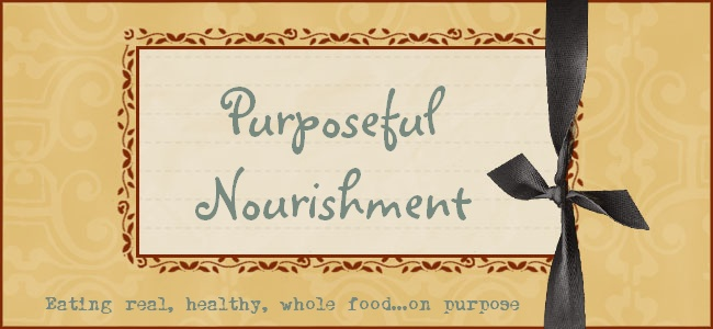 Purposeful Nourishment