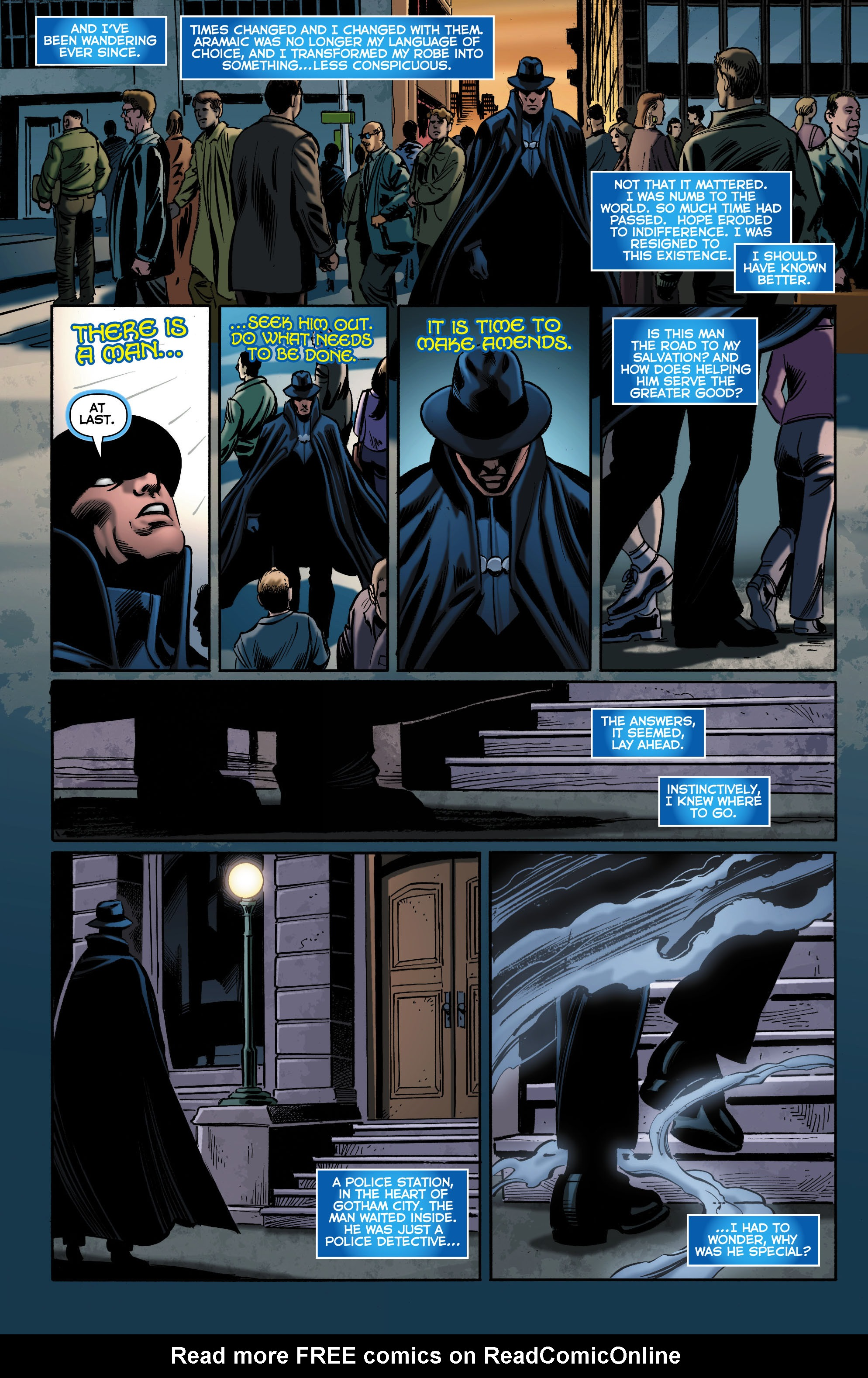 Read online Trinity of Sin: The Phantom Stranger comic -  Issue #0 - 10