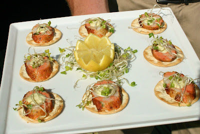 Seafood+Sausage catering san diego wedding catering