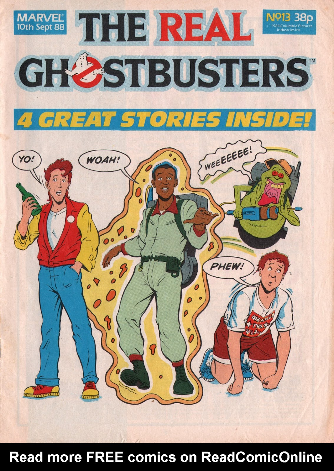 The Real Ghostbusters 13 Page 1