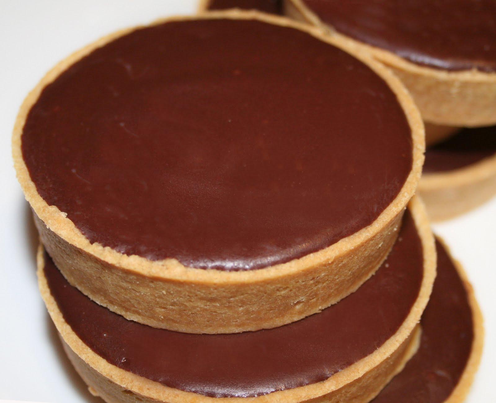 la cuisine de bernard tartelettes au chocolat. Black Bedroom Furniture Sets. Home Design Ideas