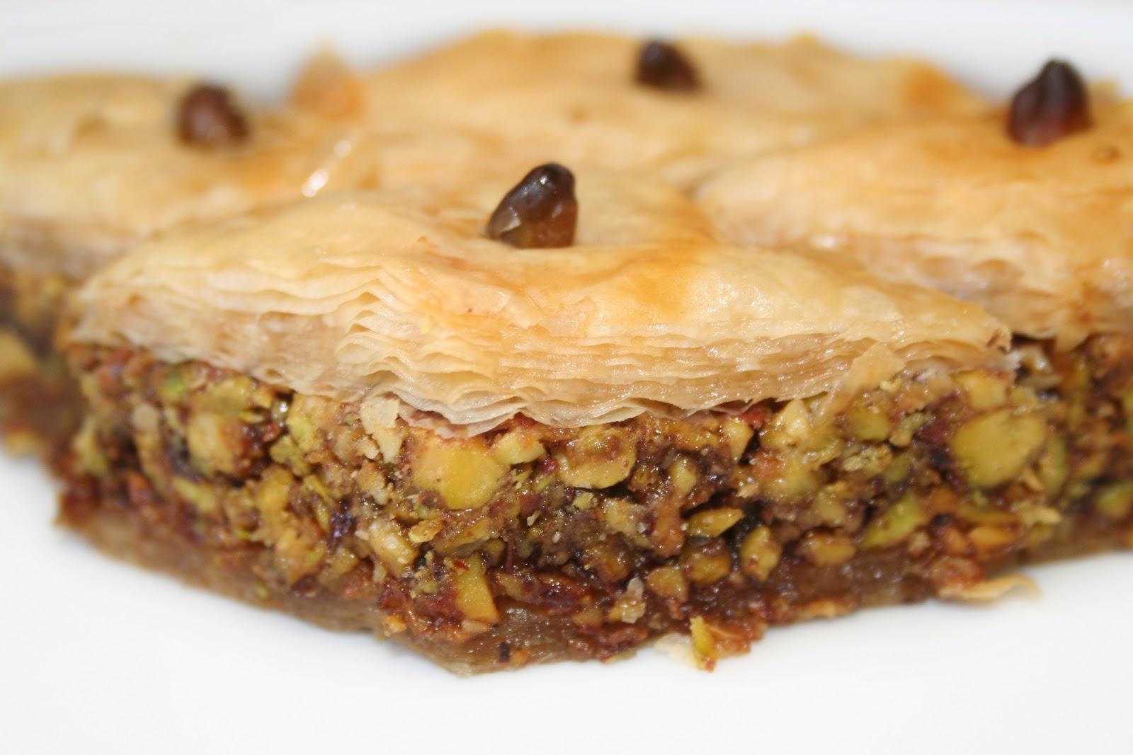 La cuisine de bernard baklawas aux pistaches et eau de rose - La cuisine de berbard ...