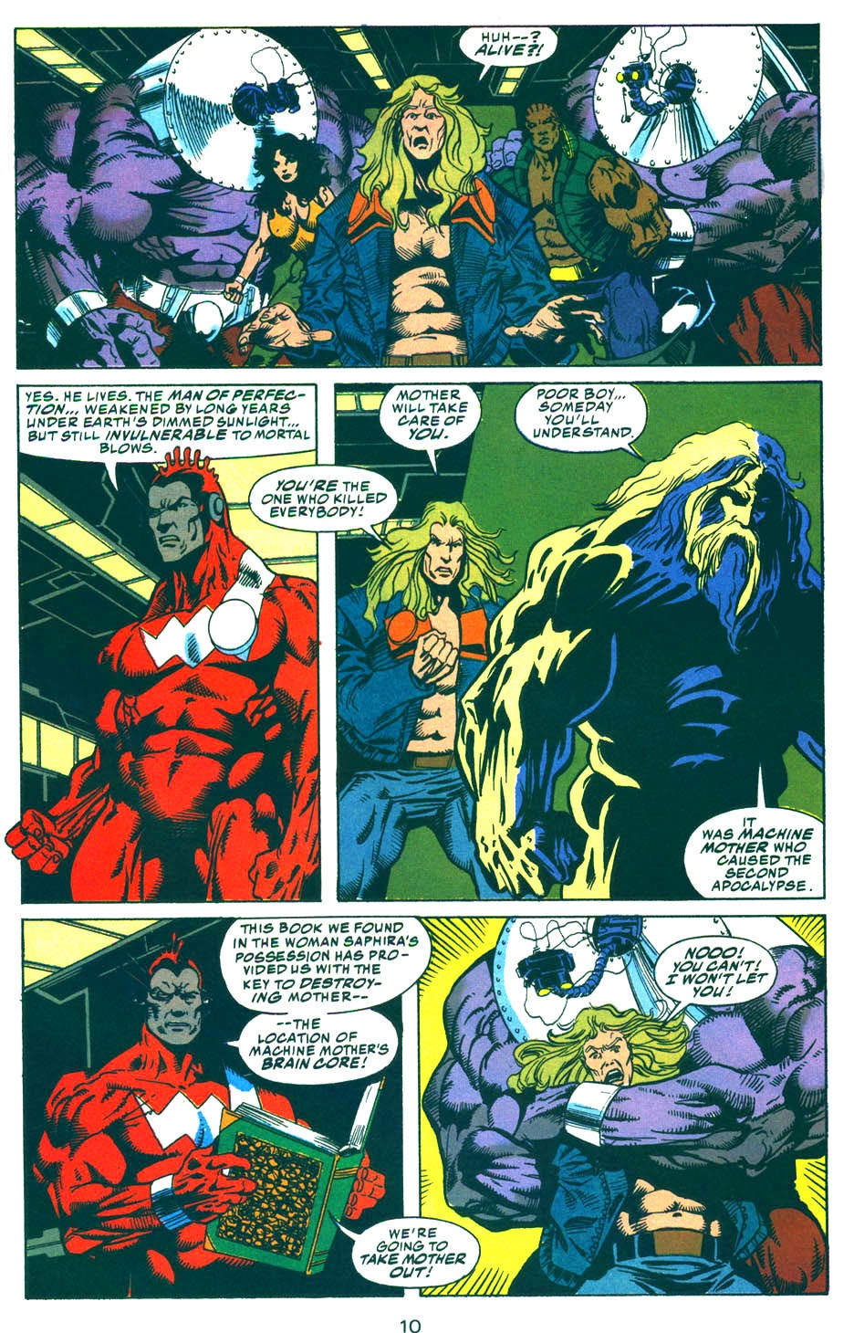Read online Kamandi: At Earth's End comic -  Issue #5 - 11