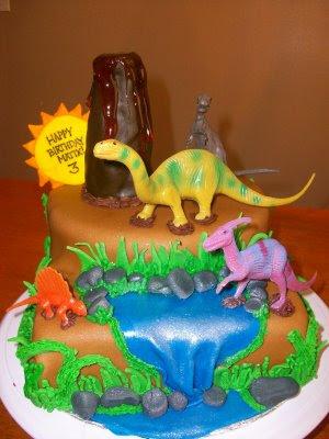 Dinosaur Birthday Cake On The Girl Matix