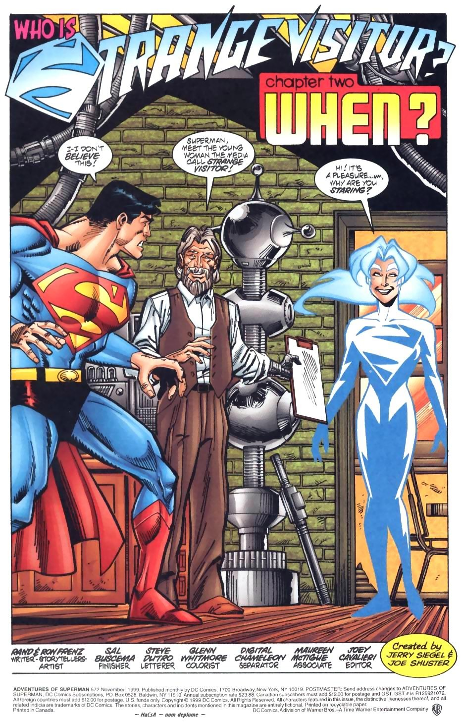 Read online Adventures of Superman (1987) comic -  Issue #572 - 2