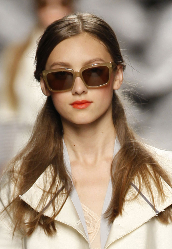 L.G.R sunglasses collaboration with Antonio Marras - Milan Fashion Show 2010