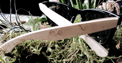 Drift glasses: Feel good and look good in wood