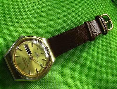 garuda, an old indonesia wristwatch