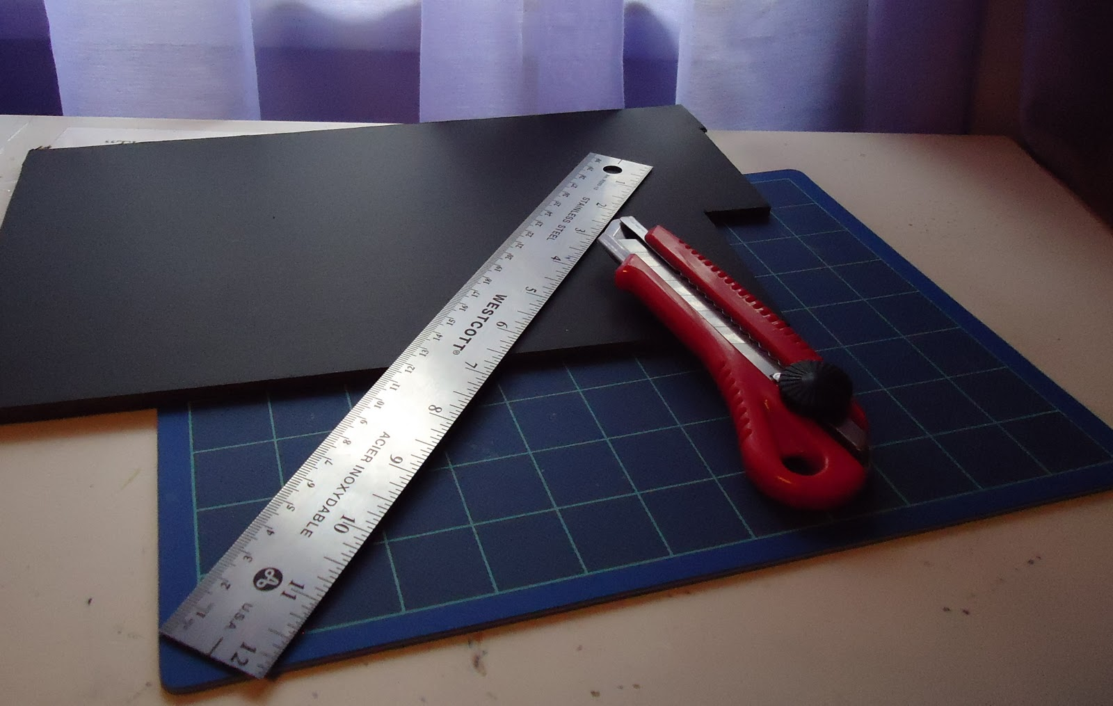 Cutting Board With Knife Holder Sweet And Simple Diy Business Card Holder Diy