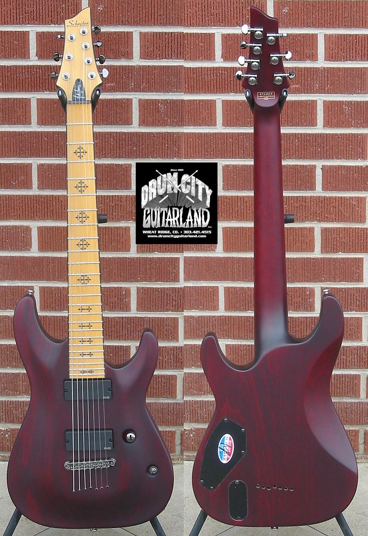 Demoniac Music Supply Schecter Lommis 7 String
