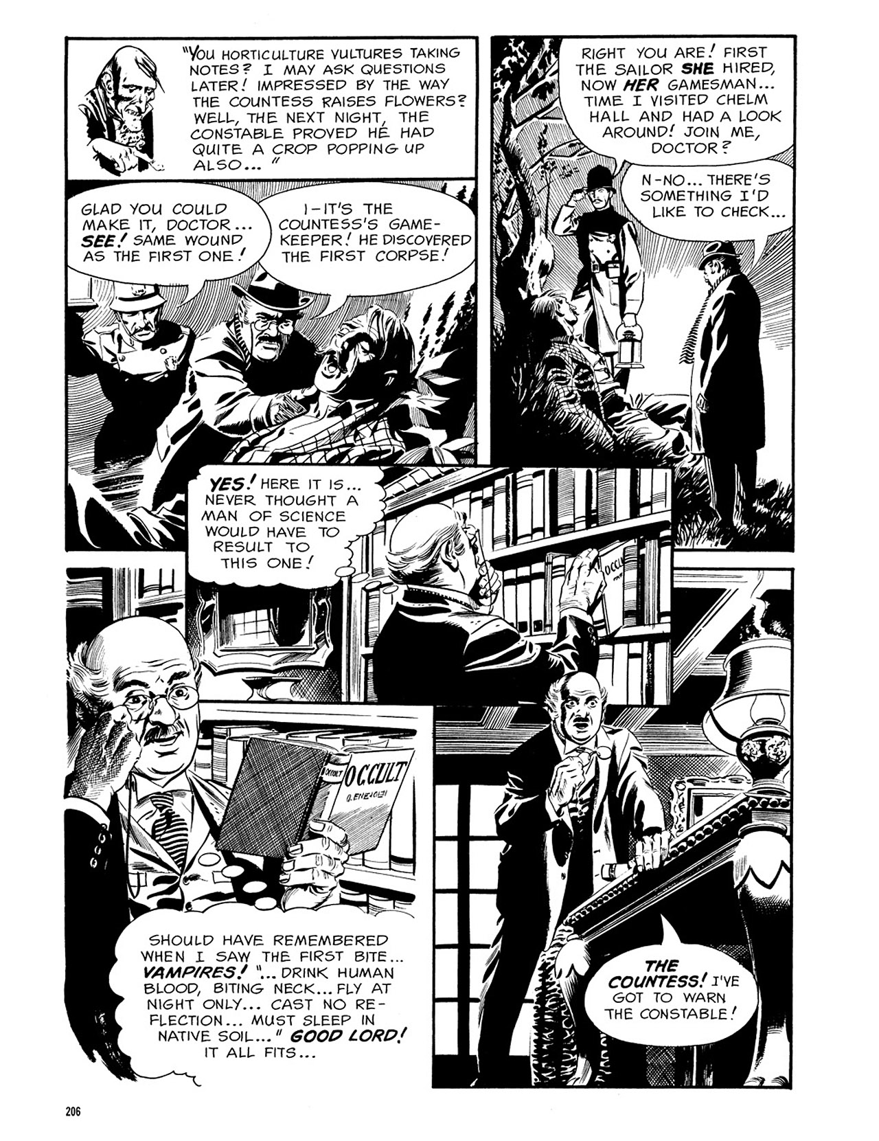 Read online Eerie Archives comic -  Issue # TPB 3 - 207