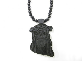 Livelovelifestyle Good Wood Black Jesus Piece