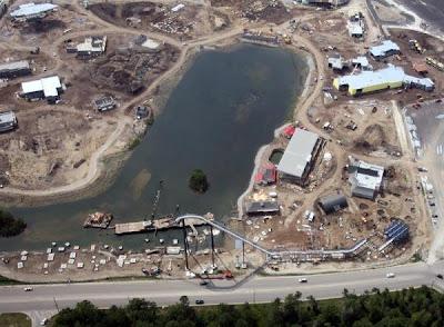 Hard Rock Park Aerials