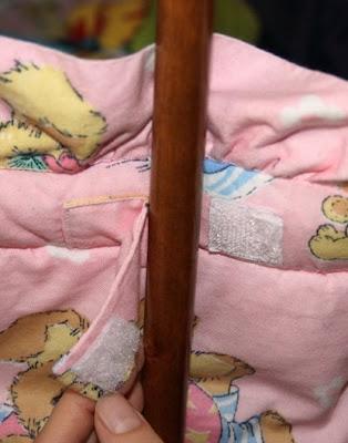 как сшить бортики, бампер в детскую кроватку