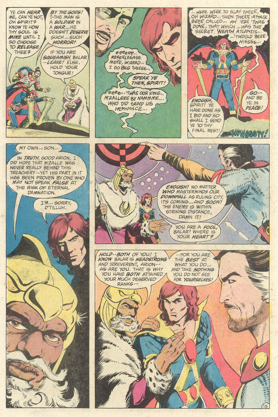 Read online Arion, Lord of Atlantis comic -  Issue #2 - 15