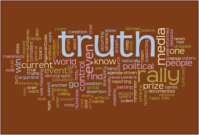 Truth Rally Word Cloud