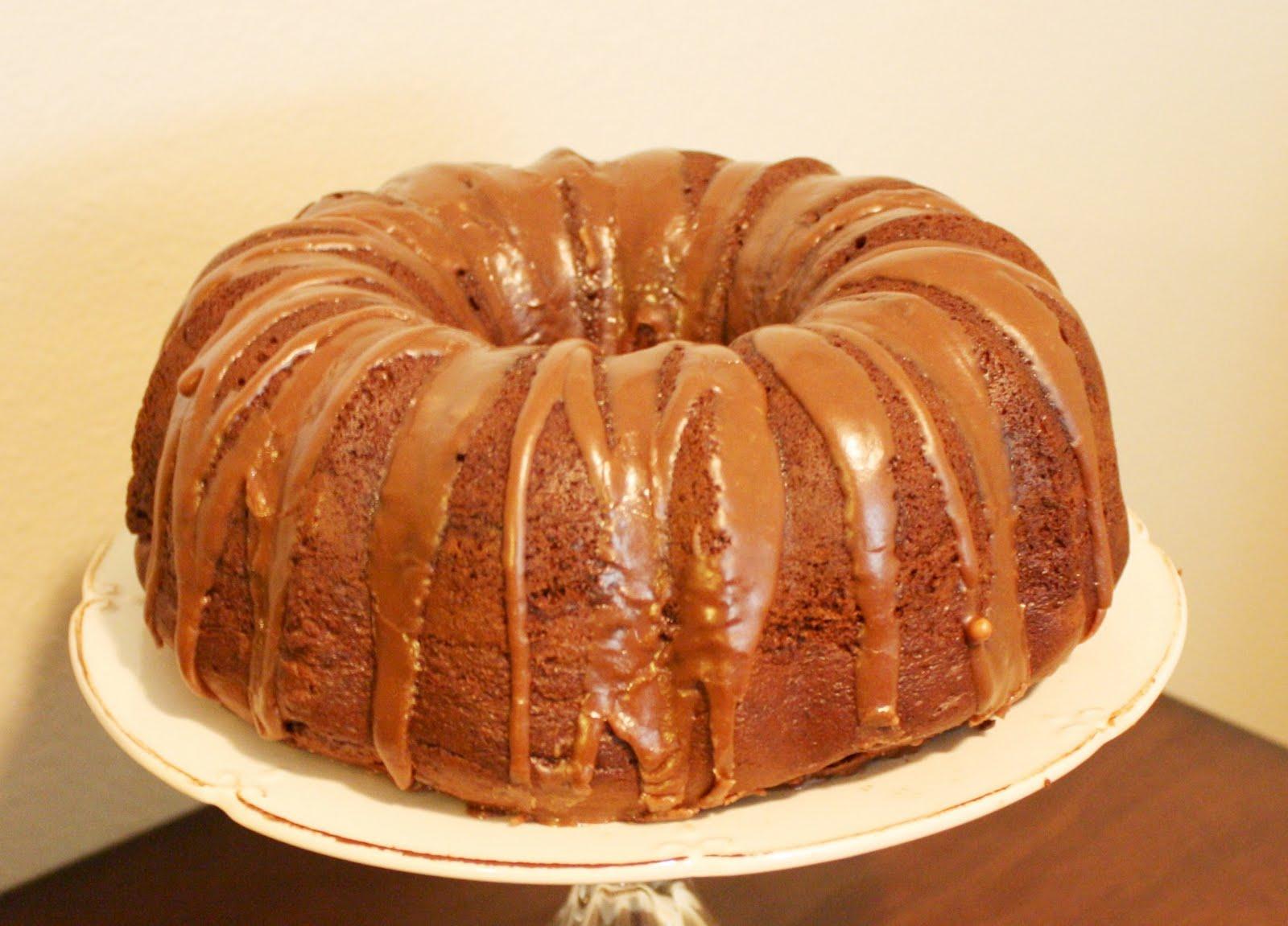 Vanilla Bundt Cake Without Eggs