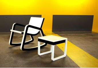 scaun balansoar poza 3