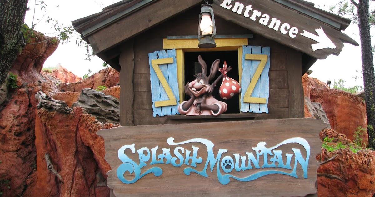 Splash Mountain Magic Kingdom Walt Disney