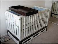 More Diy Changing Table Bedding More Baby Cheapskate