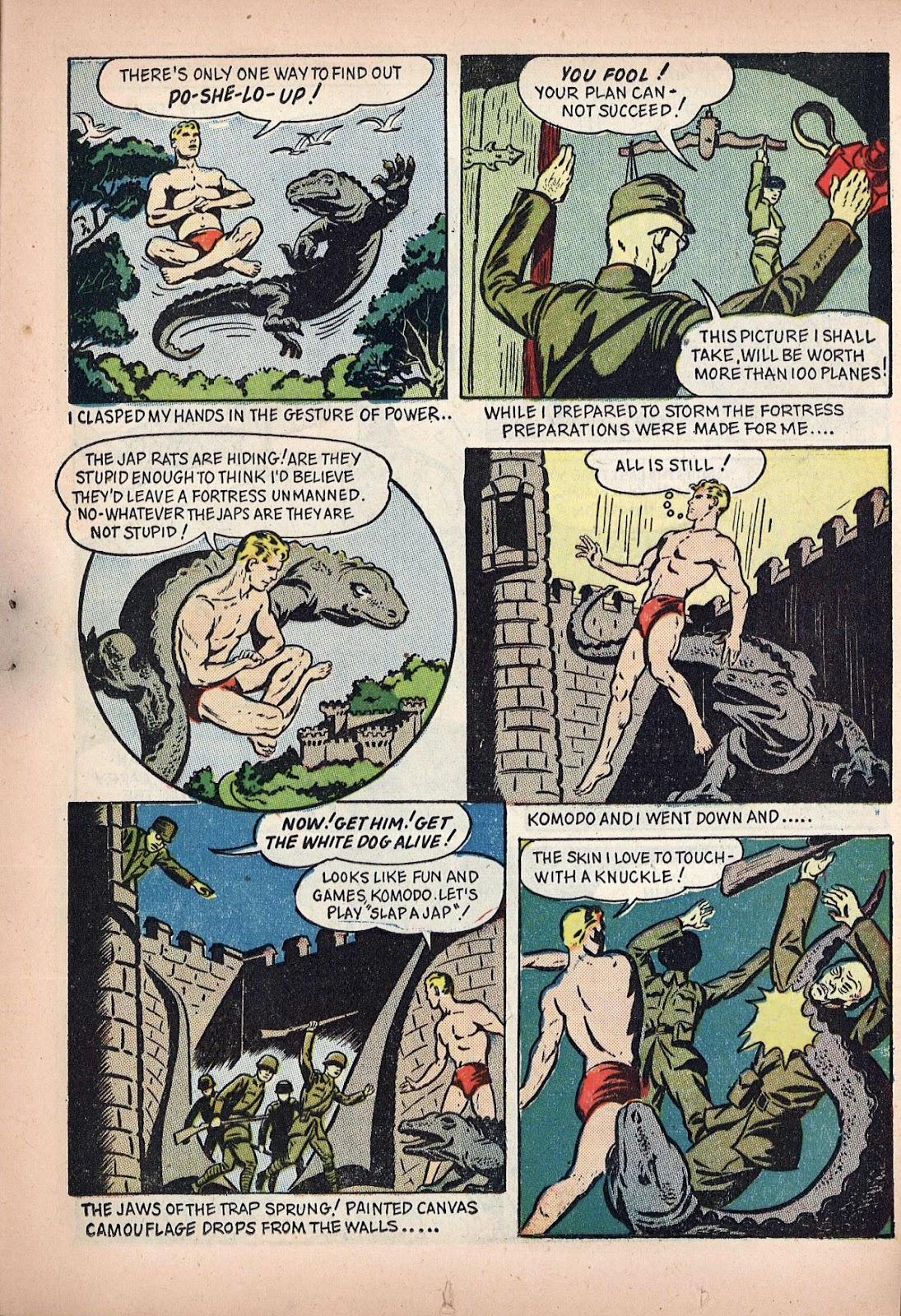 Read online Super-Magician Comics comic -  Issue #20 - 21