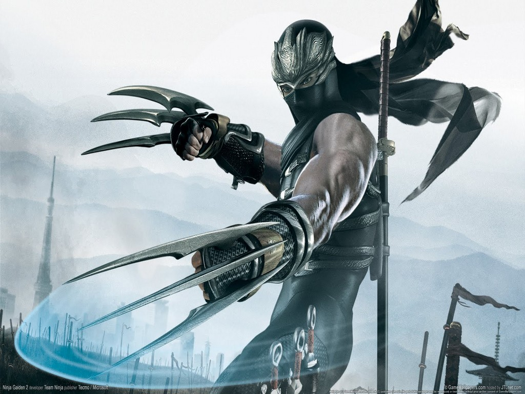 Game Ninja Gaiden Wallpaper: High Quality Celebrity Wallpaper: Ninja Gaiden 2 Game