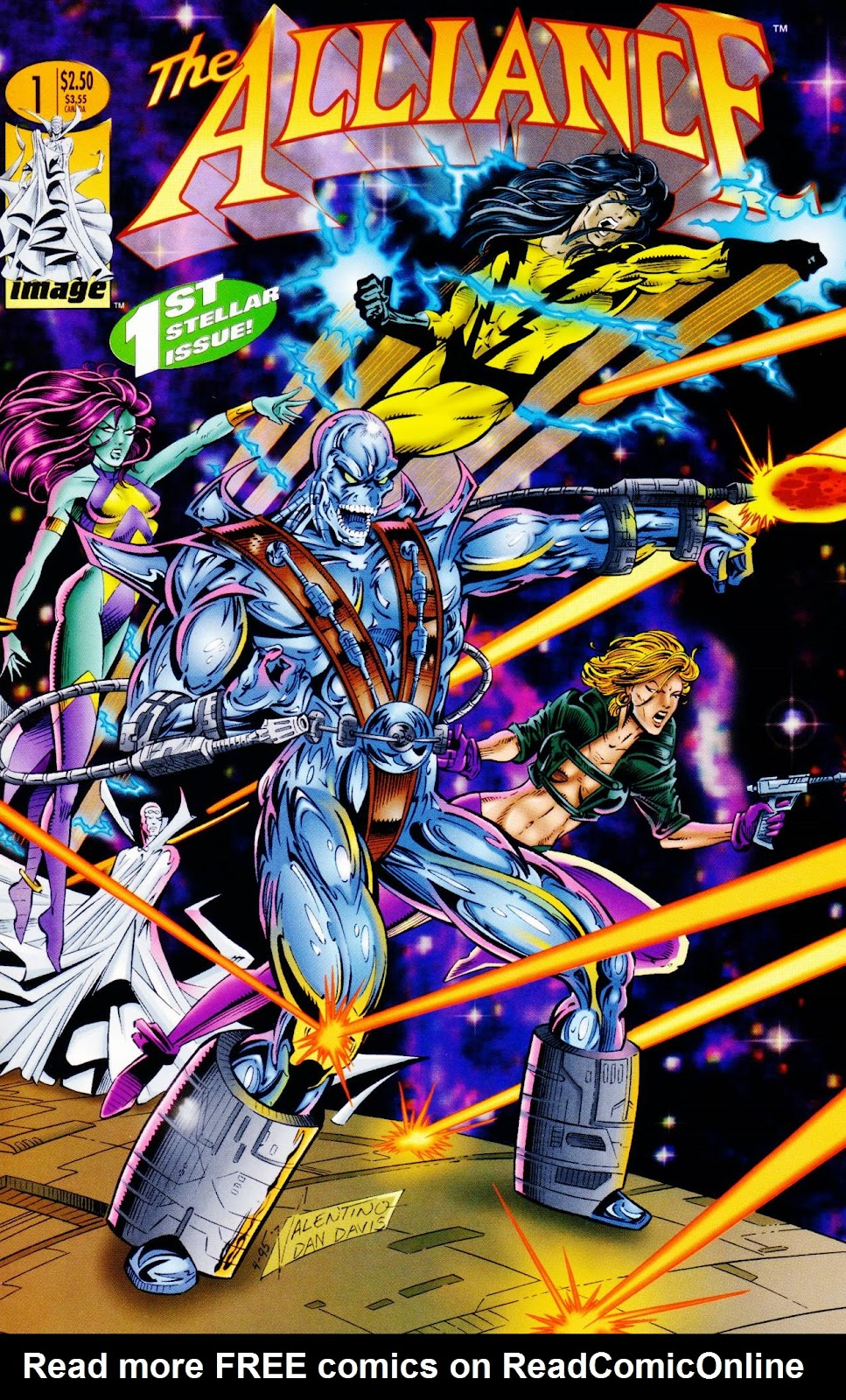 Read online The Alliance comic -  Issue #1 - 2